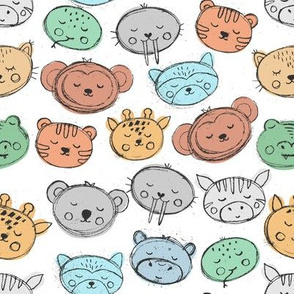 Cute stamps animals