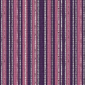 Textured Pink and Purple Candy Stripe