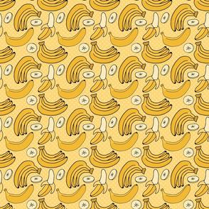 Yellow Banana Pattern 1