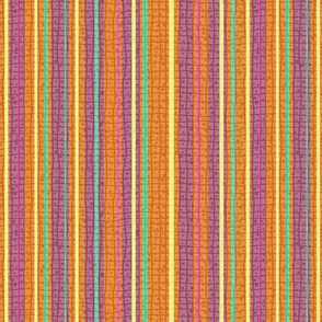 Textured Tropical Fruit Candy Stripe