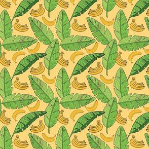 Bananas and Banana Leaves