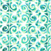 Koru Teal Green 300