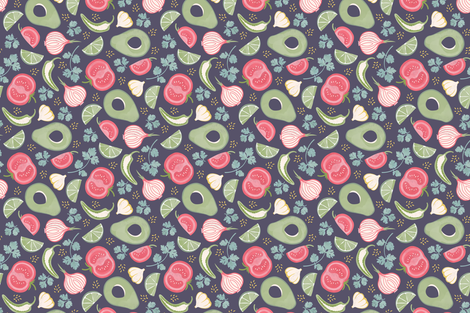 Guacamole fabric by studiocarrie on Spoonflower - custom fabric