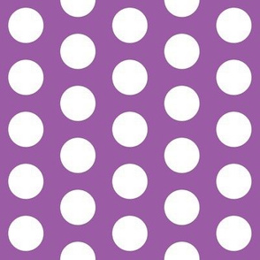 Large Purple Polka Dots