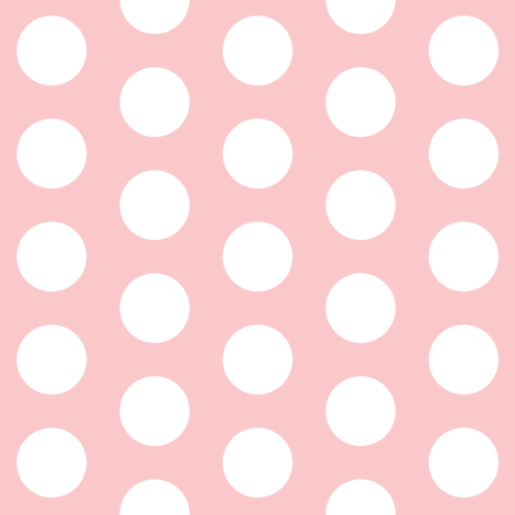 large light pink polka dots fabric thepinkhome spoonflower. Black Bedroom Furniture Sets. Home Design Ideas