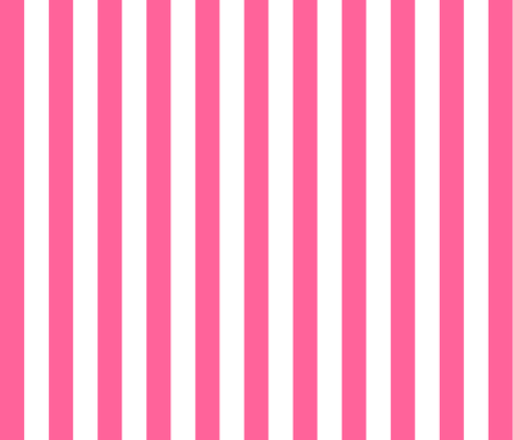 Large Pink Stripes fabric by thepinkhome on Spoonflower - custom fabric