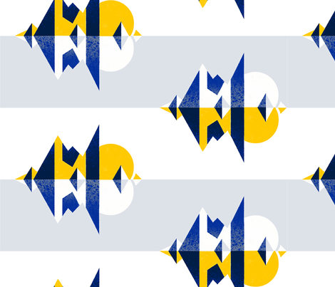 Icelandia fabric by colorulu on Spoonflower - custom fabric