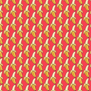 Hot Pink Banana Pattern