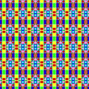 Crazy Dots and Squares