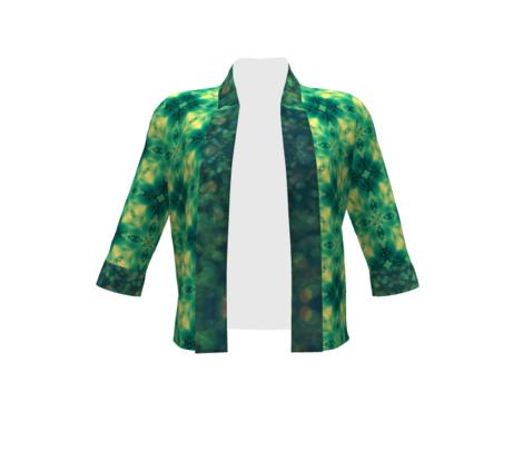 green glitter refective