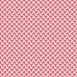 Pink Peppermint Pattern