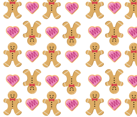 gingerbread fabric by jenniferlynas on Spoonflower - custom fabric