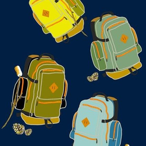 Backpacks and Mallows