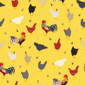 Chicken Farm Yellow