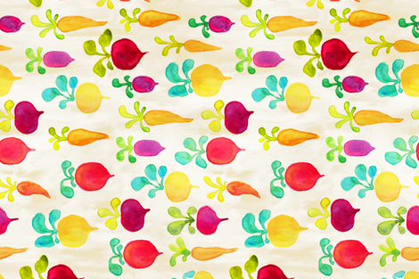 Rooted fabric by bexdsgn on Spoonflower - custom fabric