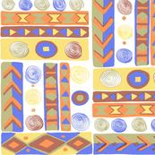Geometric African Print