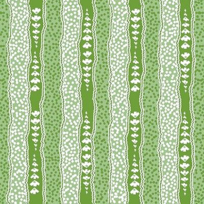 Microdot Stripe 2 - Green
