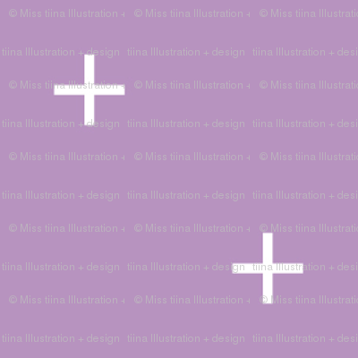 sheer lilac cross plus // pantone color of the month february