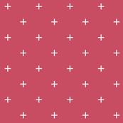 claret red cross plus // pantone color of the month november
