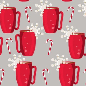 Hot Chocolate Peppermint- Greige