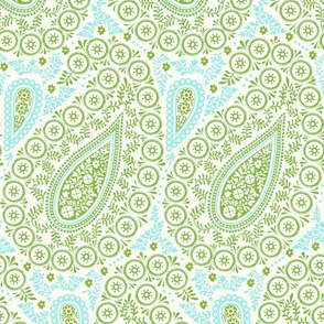 Perfect Paisley Green