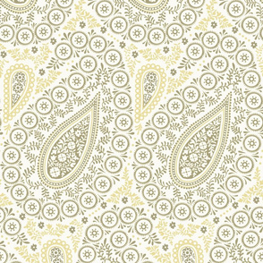Perfect Paisley Khaki