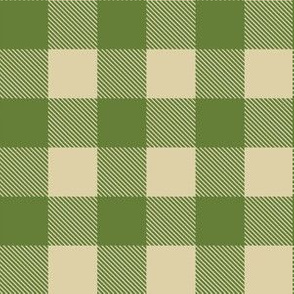 PLAID SUGAR PINE/NATURAL