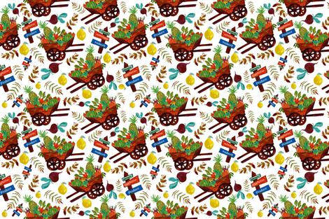 Farm Stand fabric by designsbyismatshahid on Spoonflower - custom fabric