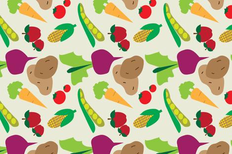 Farm_Fresh fabric by lynnforderdesigns on Spoonflower - custom fabric
