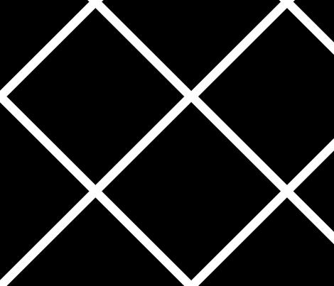 Major_diamond_black_large fabric by blayney-paul on Spoonflower - custom fabric