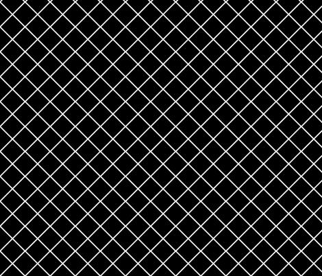 Major_diamond_black_small fabric by blayney-paul on Spoonflower - custom fabric