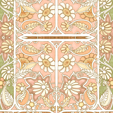 Sweetly Blooming fabric by edsel2084 on Spoonflower - custom fabric