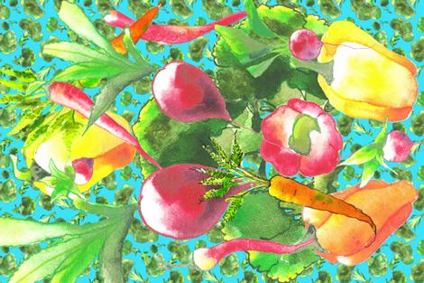 sun__rain_and_love fabric by hanneke_binnen on Spoonflower - custom fabric