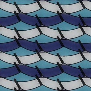Division of Waves (Aqua)