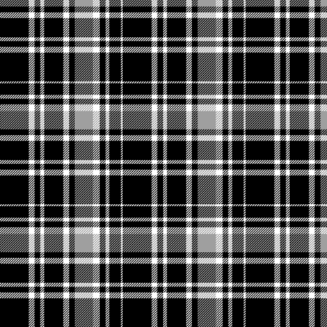 Drummond grey tartan, Clans Originaux fabric by weavingmajor on Spoonflower - custom fabric