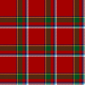 Drummond of Fingask tartan, 6""