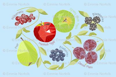 Geodesic Autumn Fruit