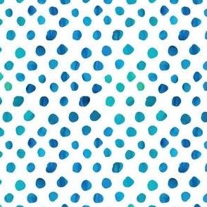 """Messy"" Watercolor Dots"