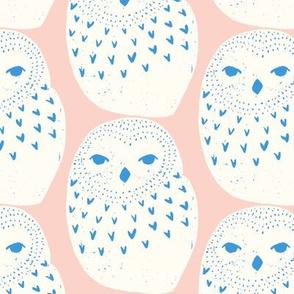 Snowy Owl Pink