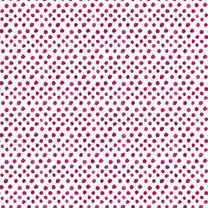 Watercolor Dots - Magenta