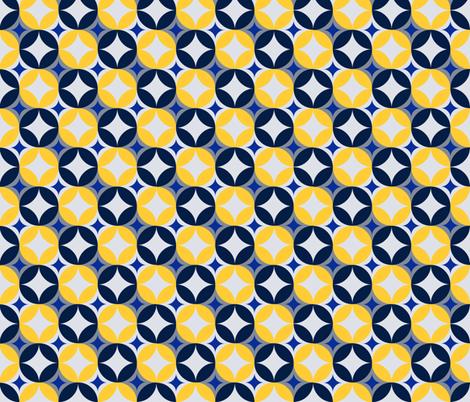Cold Starry Sky fabric by jannasalak on Spoonflower - custom fabric