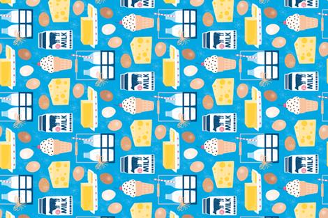 Dairy Farm Fresh fabric by designs_by_lisa_k on Spoonflower - custom fabric