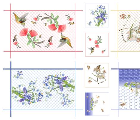 2_TeaTowels_Spoonflower_10-2017_at_150dpi_copy fabric by estelle's_homework_book_stuff on Spoonflower - custom fabric