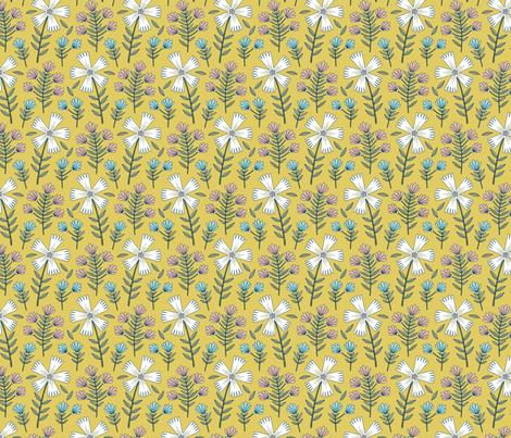 Sassy Flower fabric by andie_hanna on Spoonflower - custom fabric