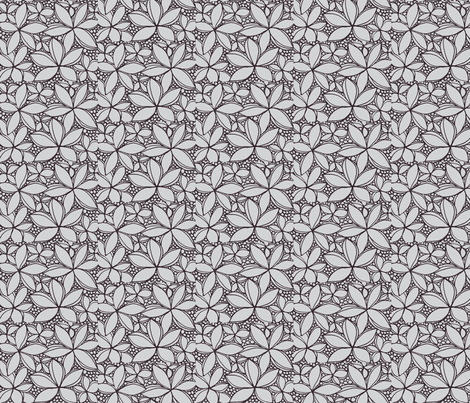 Cranberry Bog ll fabric by unclemamma on Spoonflower - custom fabric