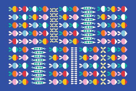 Farm towel by ©Solvejg fabric by solvejg on Spoonflower - custom fabric