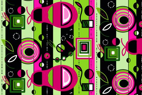 Mod  Farmer sewindigo  fabric by sewindigo on Spoonflower - custom fabric