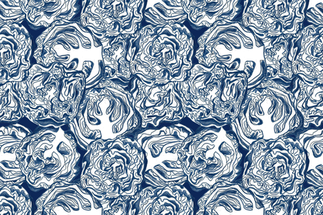 Cabbage fabric by graceful on Spoonflower - custom fabric