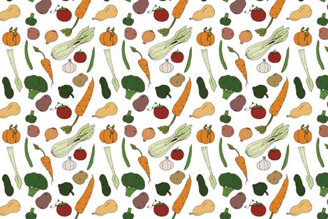 Harvest  fabric by svaeth on Spoonflower - custom fabric