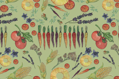 farm_to_teatowel3 fabric by kslloyd on Spoonflower - custom fabric